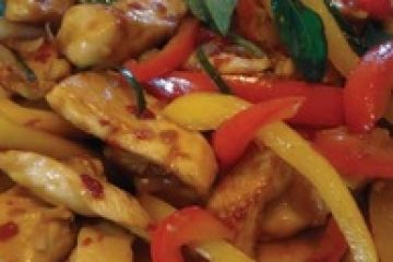Chinese Chicken Salad with Vegetables