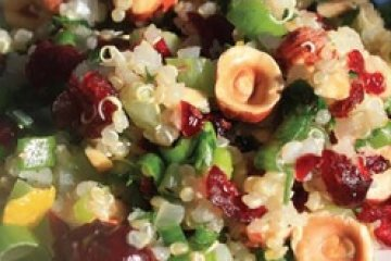 Quinoa Salad with Cranberries and Walnuts