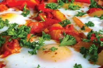 Shakshouka with Goat Cheese