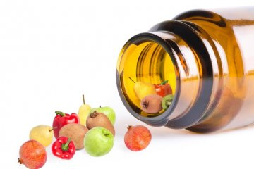 Diet supporting capsules